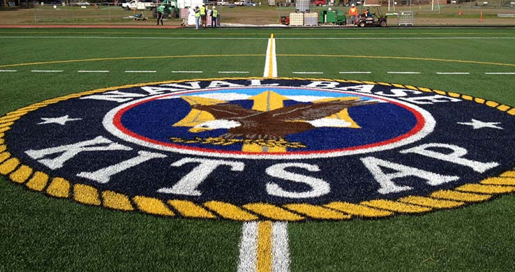 Navy Sports Field- emblem
